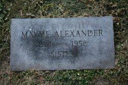Mayme Alexander