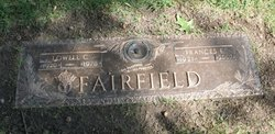 Frances E. <i>Lindsey</i> Fairfield