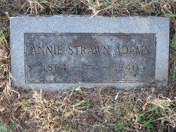 Annie <i>Strawn</i> Adams