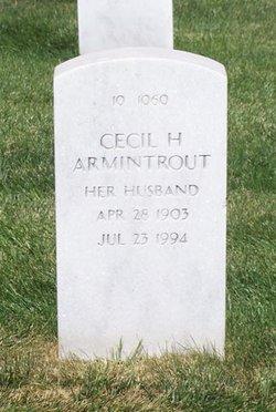 Cecil H Armintrout