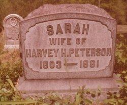 Sarah <i>Carroll</i> Peterson