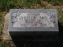 Lydella Ann <i>Brockus</i> Wisler Badder