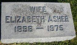 Elizabeth Asher