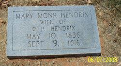 Mary Jane <i>Monk</i> Hendrix