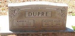 Audrey <i>Adams</i> Dupre