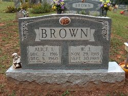 Alice Irene <i>Morgan</i> Brown