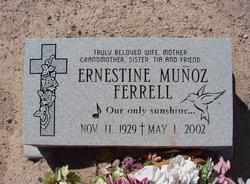 Ernestine <i>Munoz</i> Ferrell