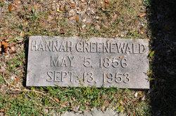 Hannah Greenewald