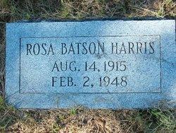Rosa <i>Batson</i> Harris