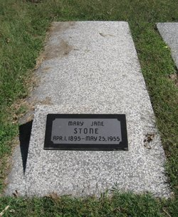 Mary Jane <i>Brown</i> Stone