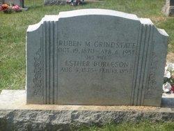 Esther <i>Burleson</i> Grindstaff