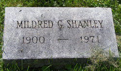 Mildred G <i>Smith</i> Shanley