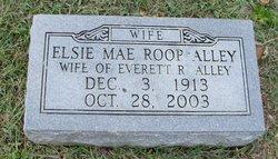 Elsie Mae <i>Roop</i> Alley