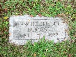 Blanche <i>Driscoll</i> Burgess