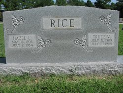 Hazel L. <i>Hixson</i> Rice
