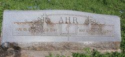 Alice <i>Obets</i> Ahr