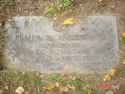 Elmer R. Anderson