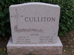 Alice T Culliton