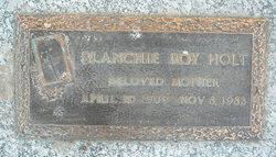 Blanchie Roy Holt
