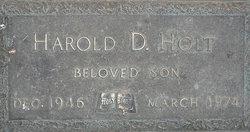 Harold D Holt