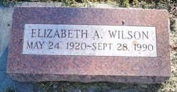 Elizabeth A. <i>Bergman</i> Wilson