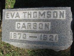 Eva <i>Thomson</i> Carson