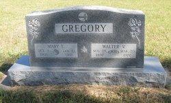 Mary E. <i>Crum</i> Gregory