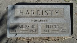 Electa Caroline <i>Elliott</i> Hardisty