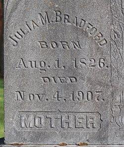 Julia M Bradford