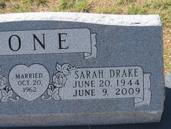 Sarah <i>Drake</i> Bone