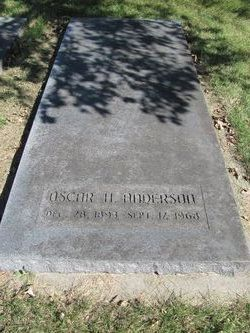Oscar Harry Anderson