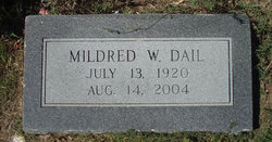 Mildred Ruth <i>Witcher</i> Dail