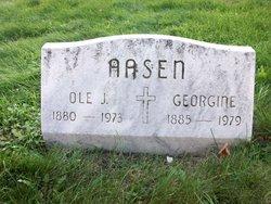Georgine <i>Bestul</i> Aasen