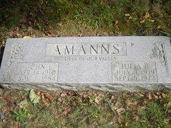 JULIA B. AMANNS