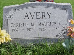 Christie Margery <i>Collins</i> Avery