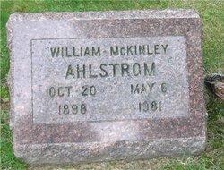William McKinley Ahlstrom