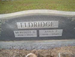 Anna P <i>Hobby</i> Eldridge