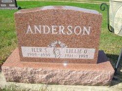 Lillie O Anderson