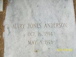Mary Addie <i>Jones</i> Anderson