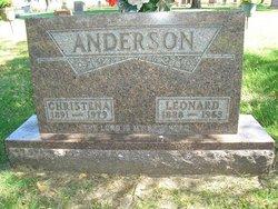 Christena <i>Fosness</i> Anderson