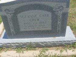 Suzanne <i>Carr</i> Crew