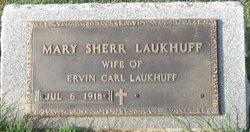 Mary <i>Sherr</i> Laukhuff Kreider