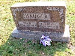 Ada Myrtle <i>Robinson</i> Hauger