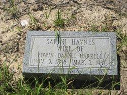 Sarah <i>Haynes</i> Harrell