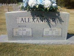 Clair Henrietta <i>Gossett</i> Alexander
