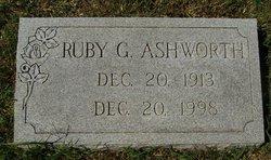 Ruby Mae <i>Gardner</i> Ashworth