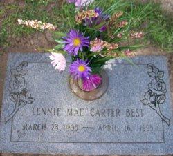 Lennie Mae <i>Carter</i> Best