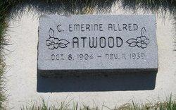 Chastie Emmerine <i>Allred</i> Atwood