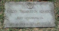 Evelyn <i>Thomasson</i> Adamson