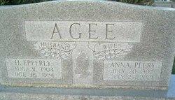 Anna Margaret <i>Peery</i> Agee